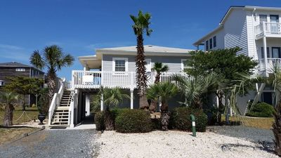 Photo for Great Canal Home - Just Across the Street from the Beach!