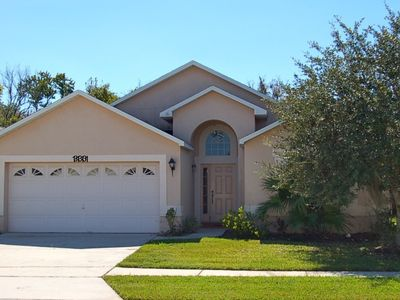 Photo for 4 Bed Vacation Home with Private Pool and Conservation View in Kissimmee Florida 4626