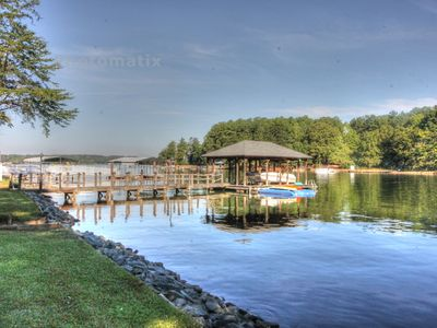Photo for Lake Norman Waterfront Home w/ pool table, foosball, kayaks, firepit & more