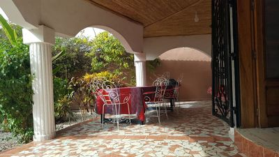 Photo for 145 m² villa with pool 100 meters from the sea any comfort