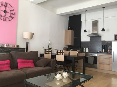 Photo for T3 completely renovated air-conditioned apartment for 2, 4 or 5 people