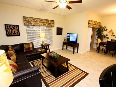 Photo for Brande New 4bd 3 bth Town Home, Private Pool in Gorgeous Paradise Palms Resort, Close to Disney, Shopping