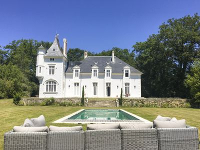 Photo for 6 bedroom Chateau, sleeps 12 with Pool and FREE WiFi