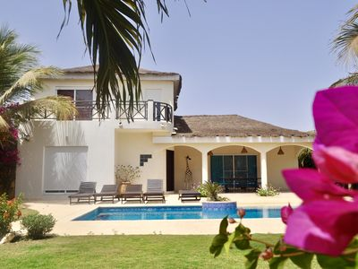 Photo for 40m from the sea: Luxury villa in Ngaparou (Saly) - Pool with beach