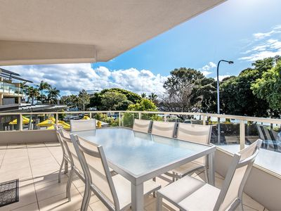 Photo for The Heart of Noosaville with River Views - Unit 1 Riverside, 235 Gympie Tce
