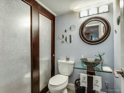 1st Fl. powder room and washer/dryer