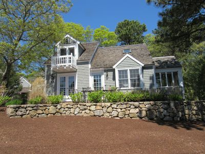 Photo for New Seabury. Beautiful, 4BR Maushop unit with private patio and water views.