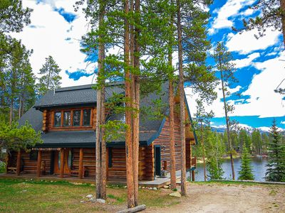 Photo for North Star Lodge - Luxurious log home furnished in beautiful lodge decor!