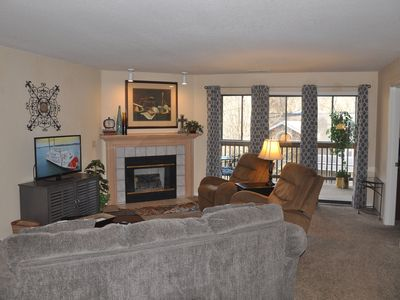 Photo for Pointe Royale ~ Golf Resort ~ Lake View ~ Fly Fishing ~ Spacious ~ Walk-in