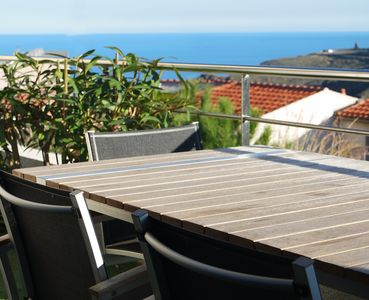 Photo for CERBERE, LARGE TERRACE SEA VIEW AND MOUNTAIN - 4 Pers. / Wireless
