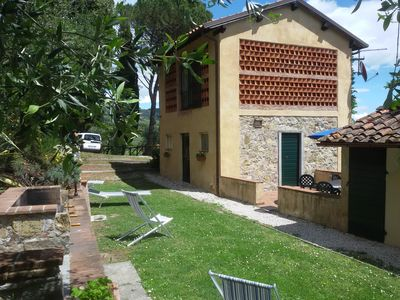 Photo for FIORDALISO: LUCCA, TUSCANY stunning view, swiming pool, private garden & parking