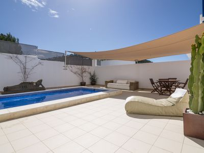 Photo for CAN TIGUY, with swimming pool and solarium to the sea