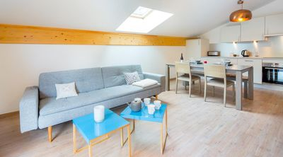 "Photo for Quietly located in Châtel, the residence ""the 4 elements"" is only 10 minutes walk from the city center."