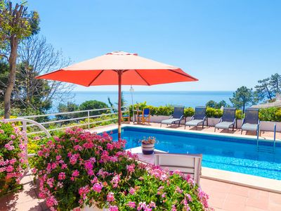 Photo for Club Villamar - Detached villa Lloret de Mar with private swimming pool and beautiful view of the...