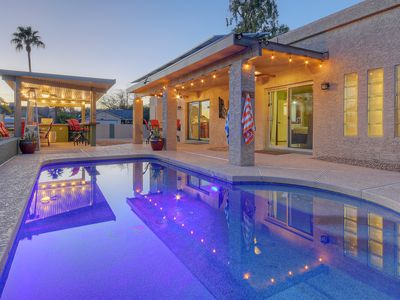 Photo for Relax at this Distinctive North Scottsdale Home with a Heated Salt Water Pool