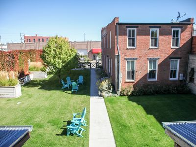 Photo for Sophisticated, historical, walkable 2 BR, 2.5 BA in Downtown Livingston