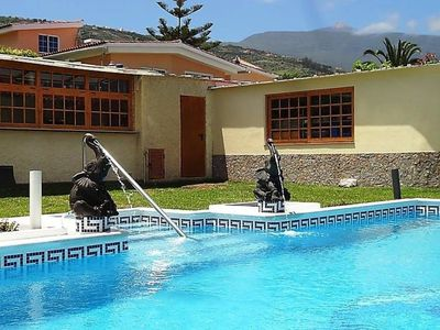 Photo for House in the center of La Orotava with Internet, Pool, Parking, Terrace (637036)