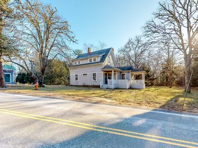 Photo for Historic dog friendly Cotuit home with huge backyard, close to the beach!