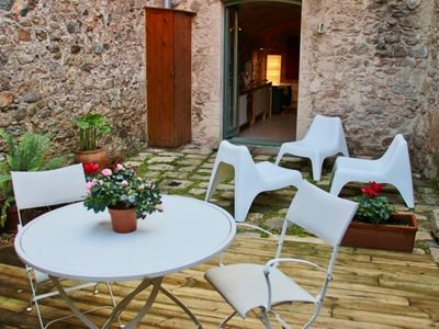 Photo for Apartment Girona Old Town | with garden in Arab Baths