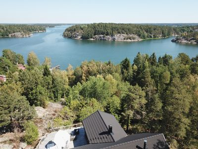 Photo for Lakefront house Stockholm archipelago 1h from city