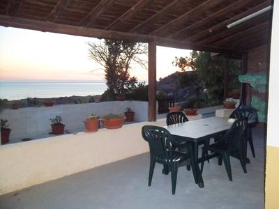 Photo for Homerez last minute deal - Amazing apt with sea view and terrace