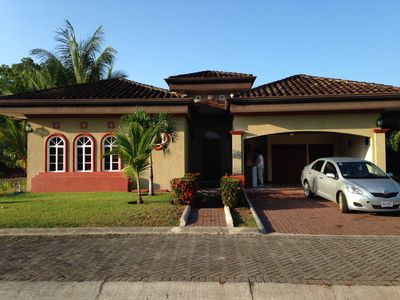 Photo for Tropical Vacation Home With Private Pool, Located 300 Meters from Beach