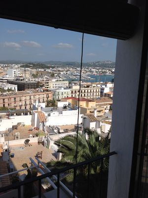 Photo for Wonderful apartment for 2 pax with terrace and views to the walls and the sea.