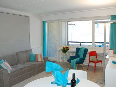 Photo for Apartment Lago di Lugano in Bissone - 3 persons, 1 bedrooms