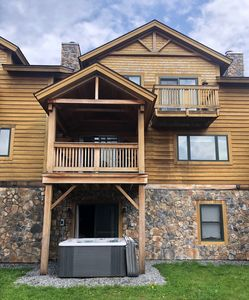 Photo for Spectacular New Townhome - Walk to Mt. Snow - Hot Tub - Designer Decorated