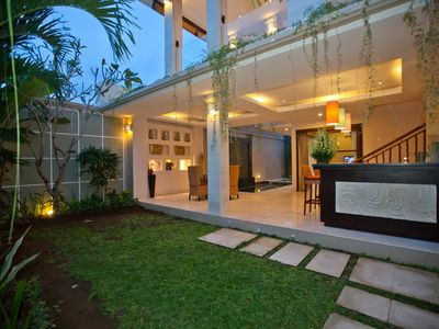 Photo for Merpati 2 Bedroom Villa, Walk To Batu Belig Beach