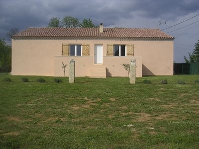 Photo for The lavender cottage in a quiet southern Ardèche