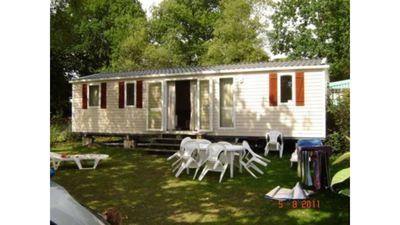 Photo for 3 Bedroom mobile home Brittany 580