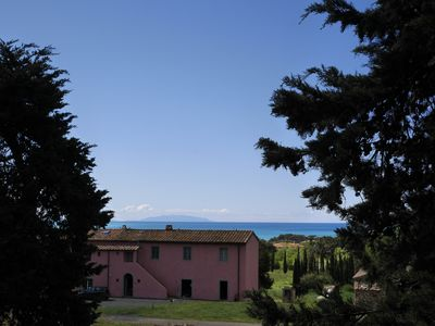 "Photo for ""Cardo"" apartment farm in Castiglioncello near the sea"