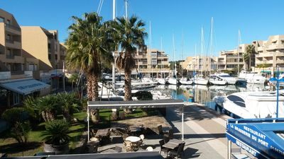 Photo for Residence Formigue - Port of Bormes - Wharf - LA FAVIERE - LAVANDOU