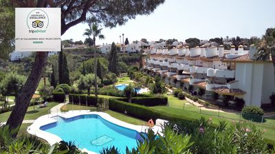 Photo for Family apartment for rent, Spain Costa Del Sol Calahonda. Aircon WiFi TV Pools