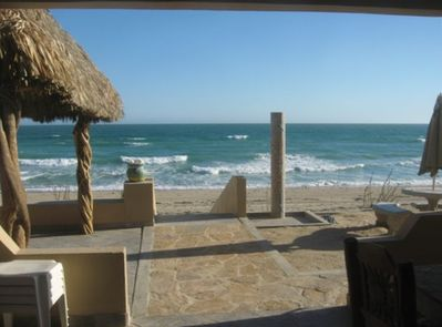 WATCH FOR DOLPHIN & WHALE WATCHING FROM THE PALAPA BAR