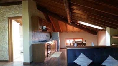 Photo for Beautiful two-bedroom attic, fine finishes