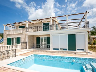 Photo for stone  villa with garden pool , garage , fitness room