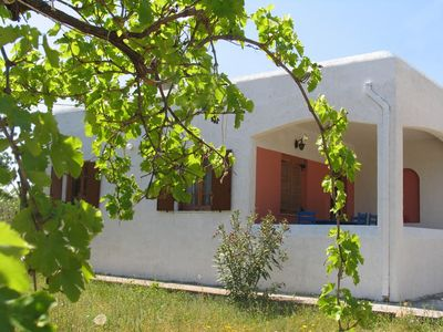 Photo for Villa 700 m from the center of Aegina with Internet, Parking, Washing machine (1026550)