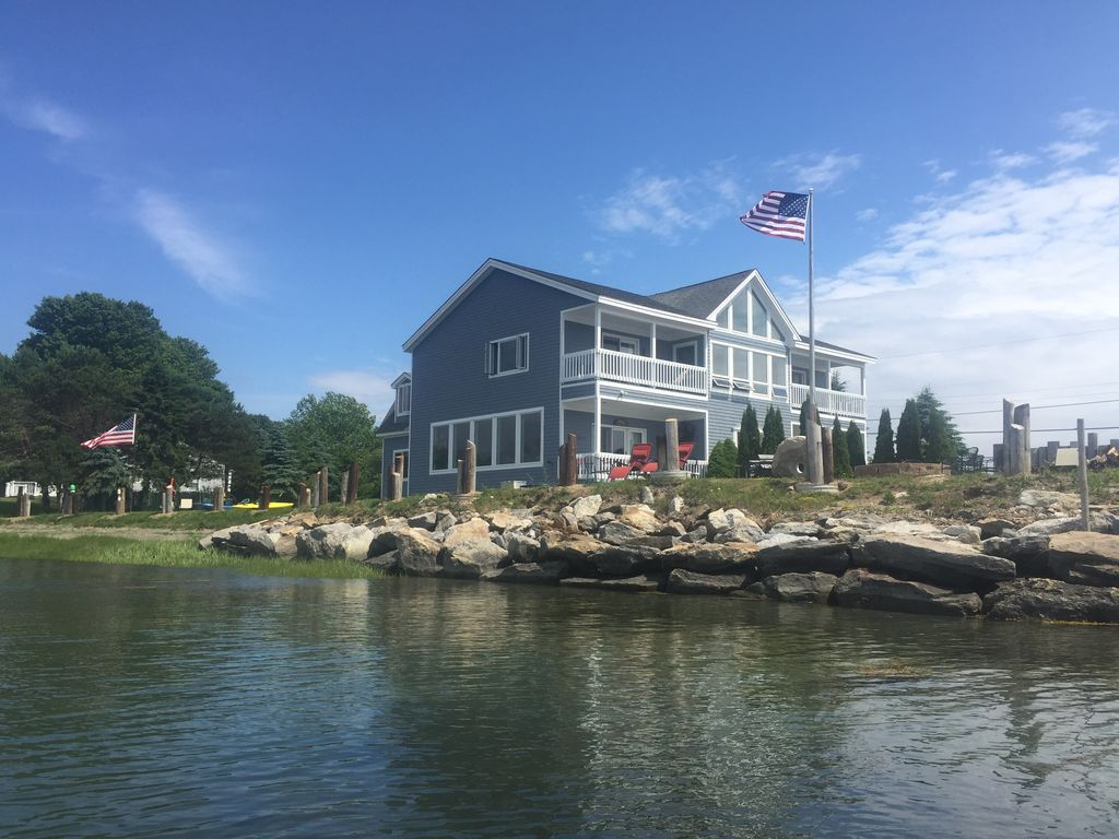 Harpswell Vacation Oceanfront Rental Home - HomeAway