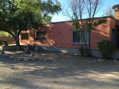 Photo for Large 2 BR 1.5 BA w Pool on 5 acre ranchette, Tanque Verde Casita #6