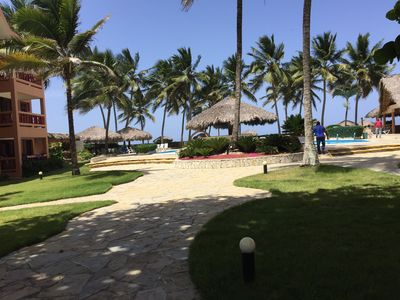 Photo for Affordable, Quiet, Secure Studio with semi private beach,  swimming pool