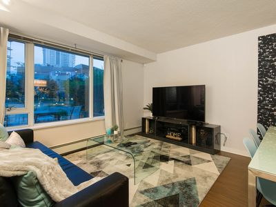 Photo for Rare 3 Bed, 3 Bath Townhouse with a Private Rooftop Patio in Downtown Vancouver