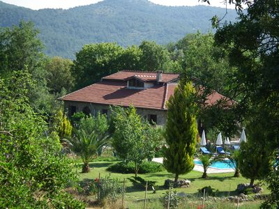 Photo for Villa Eden is a historical vacation with private pool and garden in Kayaköy