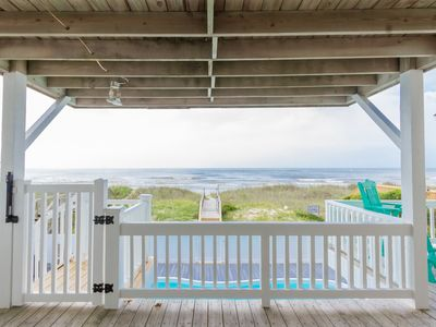 Photo for Gorgeous, Remodeled 5 Br 4 Bth Oceanfront Home With Private Heated Pool!
