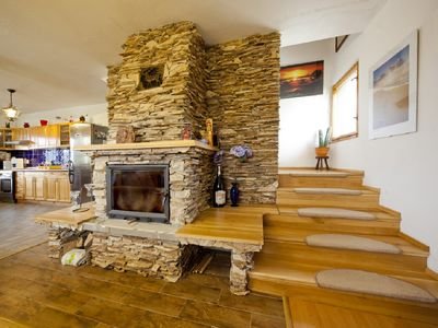Photo for Charming villa in nature, (14 p.), Fireplace, saunas, wifi, swimming pool, large garden