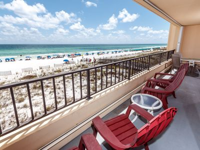 "Photo for ""Surf Dweller Unit 304"" Completely Renovated, Gorgeous Direct Gulf Front Views!"