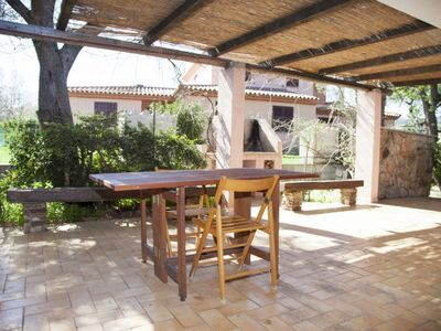 Photo for Furnished veranda, and garden with BBQ area