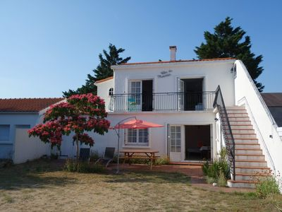 Photo for Ideal place to relax, private quiet street, forest 2 minutes, beach 10 minutes walk