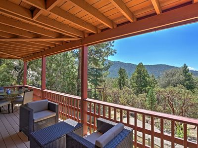 Photo for Spacious 4BR Idyllwild Cabin w/ Private Hot Tub!